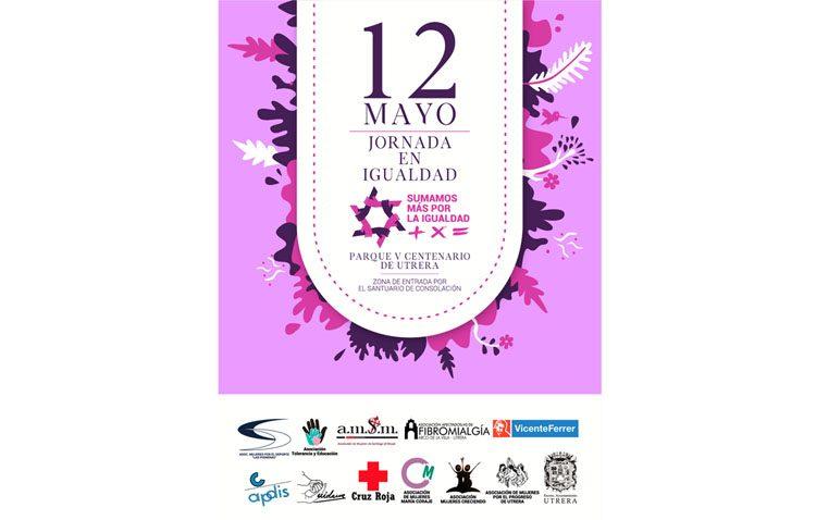 Intensa jornada de actividades en el parque del V Centenario con motivo de la «Jornada en Igualdad»