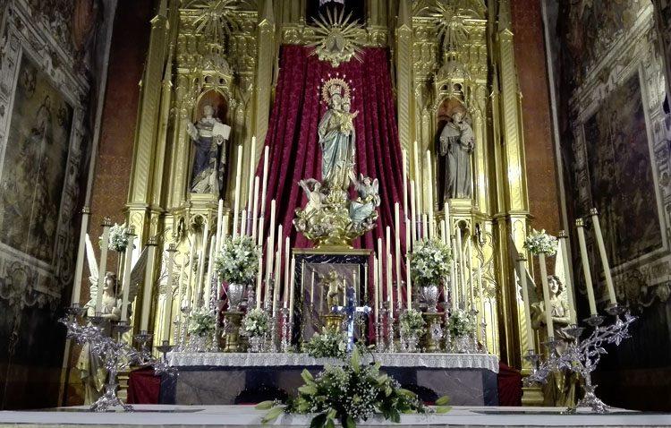 Cultos en honor a María Auxiliadora
