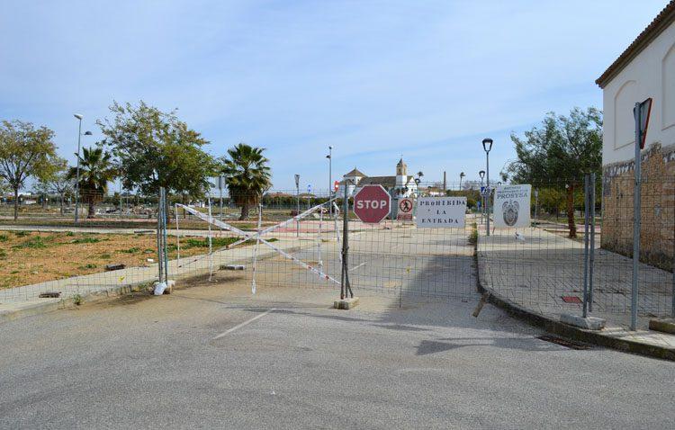 La barriada Naranjal de Castillo abrirá por fin su conexión con el parque del V Centenario