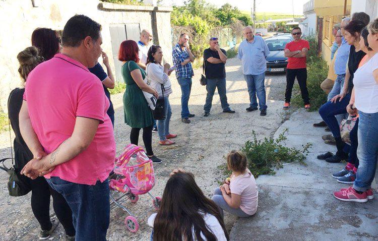 Ruta de Podemos por Utrera y sus pedanías para conocer las necesidades de la población