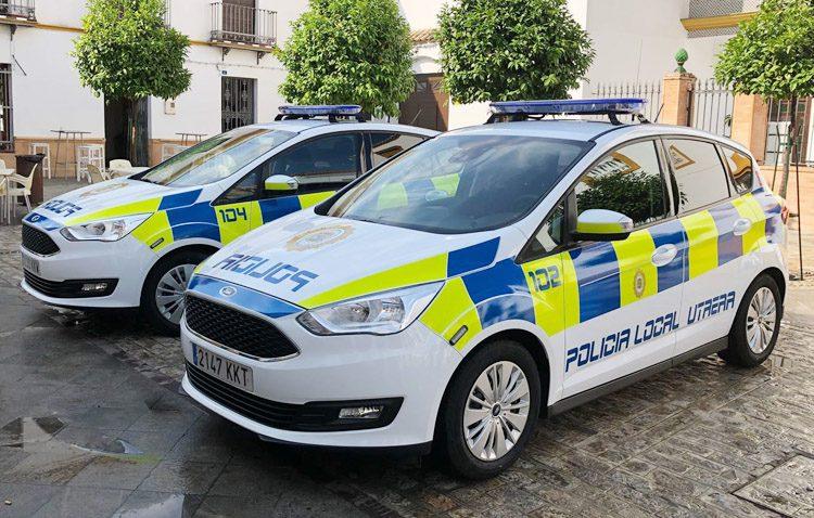 La Policía Local de Utrera incorpora dos nuevos vehículos