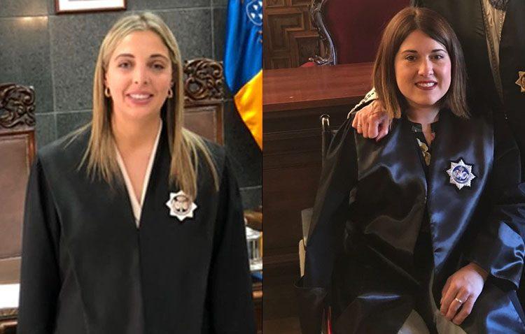 Dos utreranas reciben de manos del ministro sus despachos como nuevas secretarias judiciales