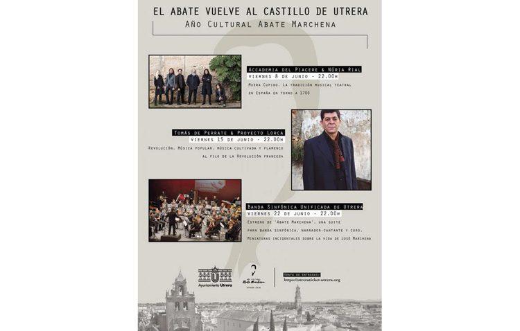 Tres recitales de música en el castillo con motivo del año cultural del Abate Marchena