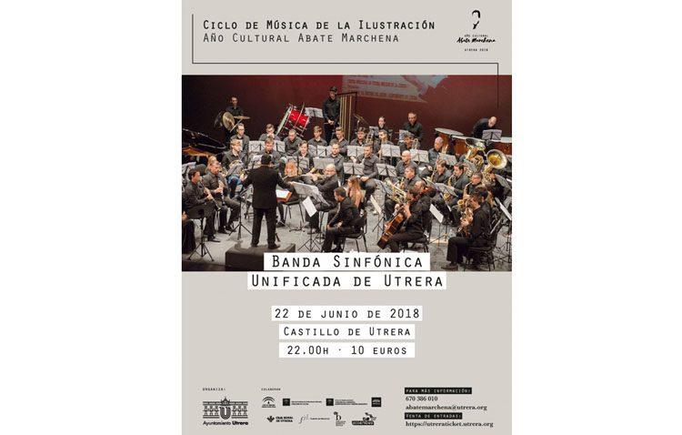 La banda sinfónica unificada de Utrera llega al castillo con un concierto junto a los campaneros y el coro Filarmonía de Sevilla