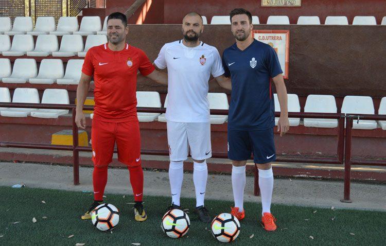 El C.D. Utrera presenta las equipaciones para la próxima temporada