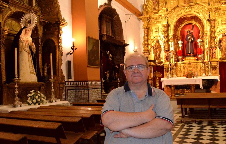 Juan Jesús Fernández, nuevo hermano mayor de Jesús Nazareno con récord histórico de participación