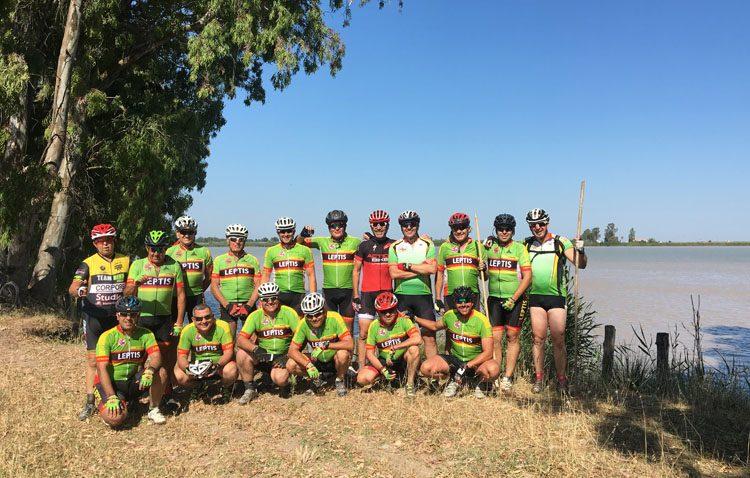 Legiones de Leptis cierra la temporada con su clásica ruta a Sanlúcar de Barrameda