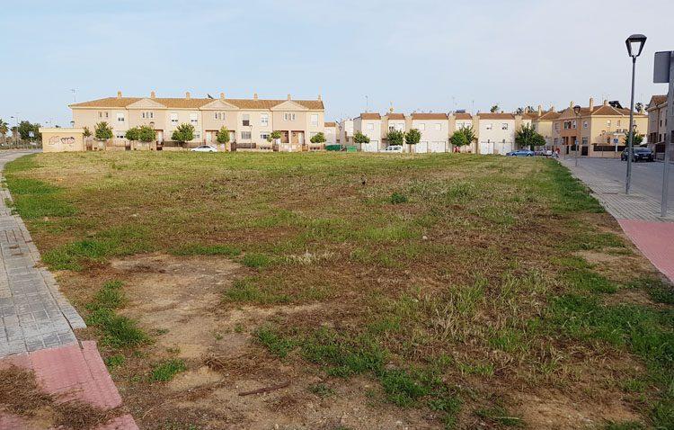 La parcela vacía del Naranjal de Castillo será reurbanizada