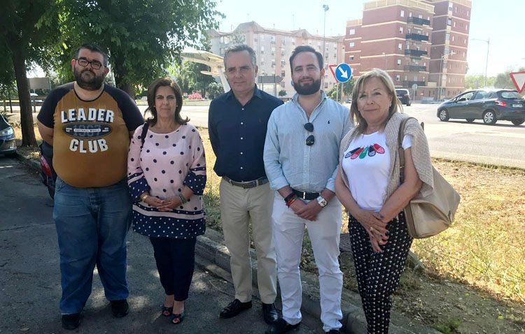 El PP denuncia las «mentiras» de la Junta de Andalucía a los utreranos sobre la variante Este y la carretera de Los Palacios