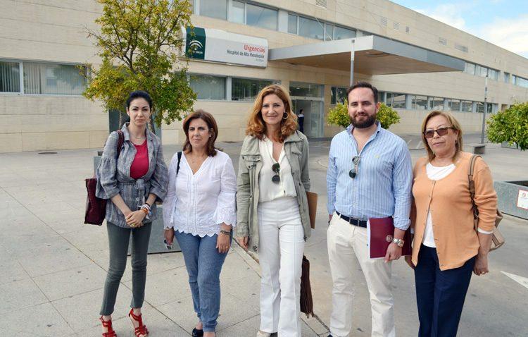 El hospital de alta resolución de Utrera atendió el año pasado «1.700 consultas menos por falta de personal»