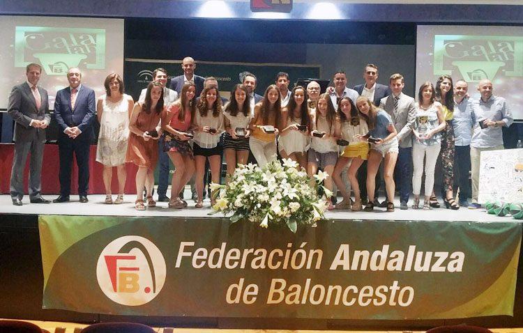 Utrera acoge la II Gala de la Federación Andaluza Baloncesto
