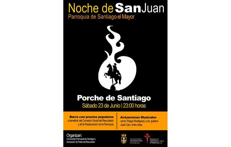 Velada de Los Juanes a beneficio del comedor social del Resucitado y de la parroquia de Santiago