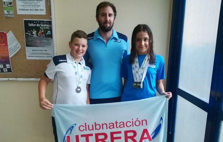 El Club Natación Utrera pone el broche de oro final al cierre de los campeonatos de Andalucía