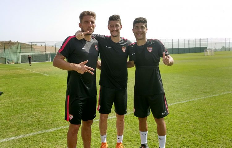 El utrerano Pepe Mena juega su primer amistoso con el Sevilla ante el Bournemouth