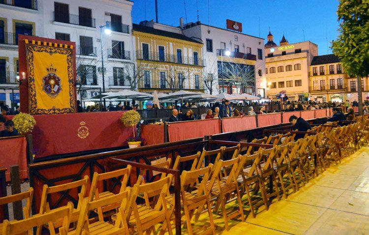 Abierto el plazo de renovación y solicitud de abonos para las sillas y palcos de la carrera oficial de la Semana Santa