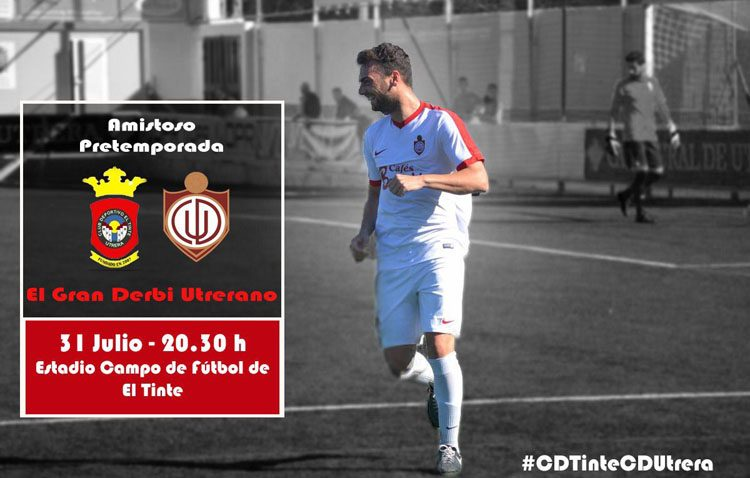 Un derbi utrerano de pretemporada enfrenta este martes al CD Utrera y al CD El Tinte