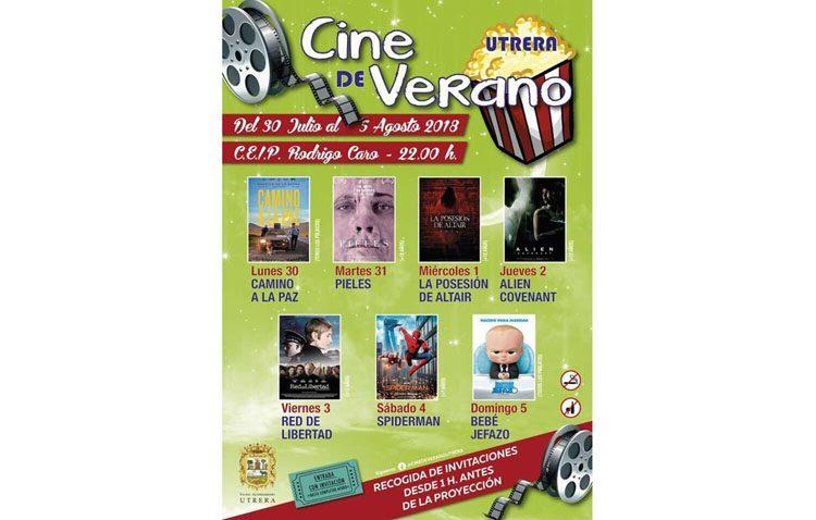 El cine de verano afronta su segunda semana de películas en el colegio Rodrigo Caro