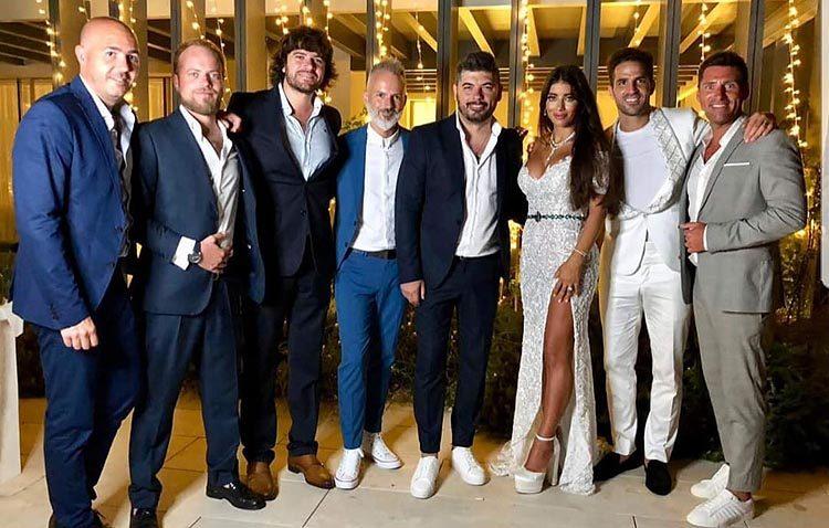 El utrerano Demarco Flamenco, invitado musical en la fiesta post boda del futbolista Cesc Fábregas (VÍDEO)