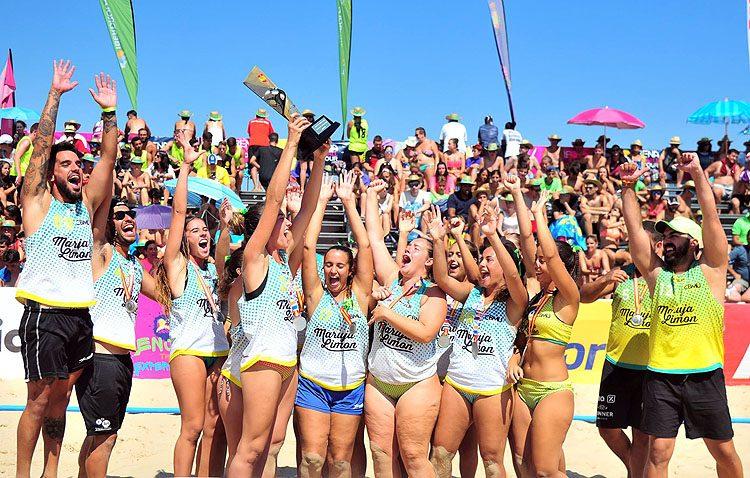 El equipo juvenil femenino del Balonmano Playa Utrera, subcampeón de España