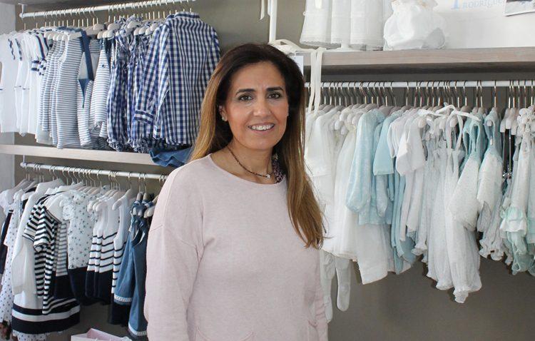 Beatriz Obando, una utrerana pionera impulsando un comercio dedicado exclusivamente a los bebés
