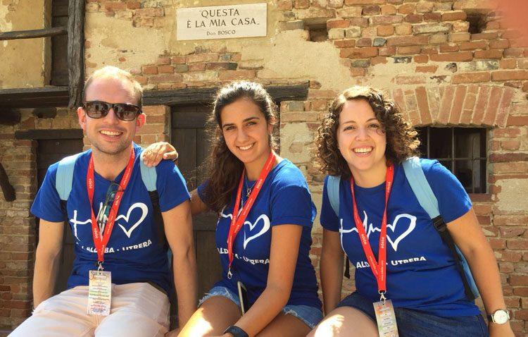 Cinco jóvenes utreranos participan en un evento internacional por los «lugares salesianos»