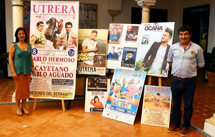 Poveda, Nyno Vargas y un espectáculo de Pocoyó, citas musicales destacadas de la preferia de Utrera