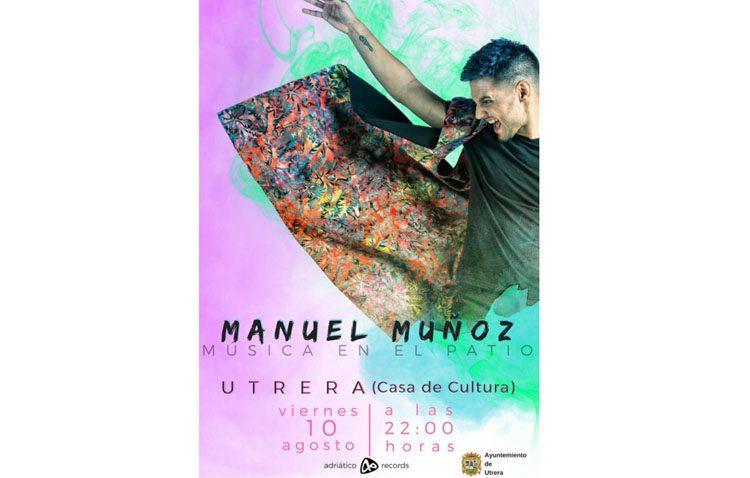 Concierto del sevillano Manuel Muñoz en Utrera