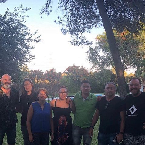 Encuentro de militantes de Podemos Utrera y La Rioja
