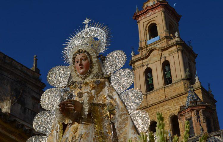 La parroquia de Santa María celebra los cultos anuales en honor a la Virgen de la Mesa