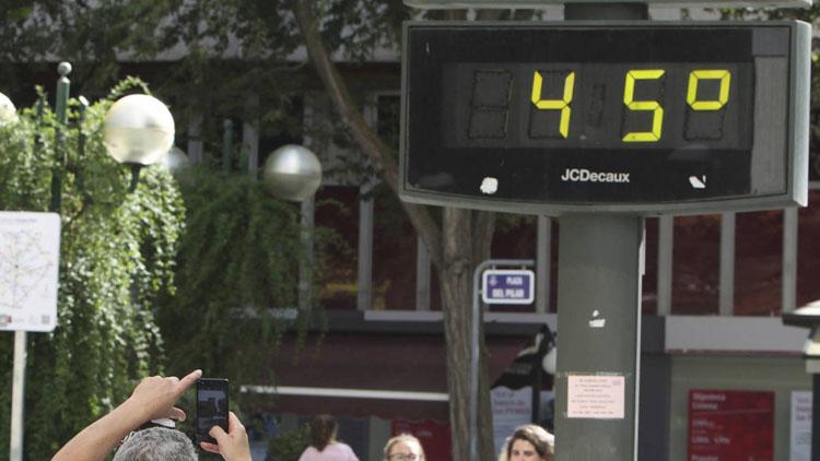 Activado el aviso rojo por altas temperaturas este sábado en Utrera