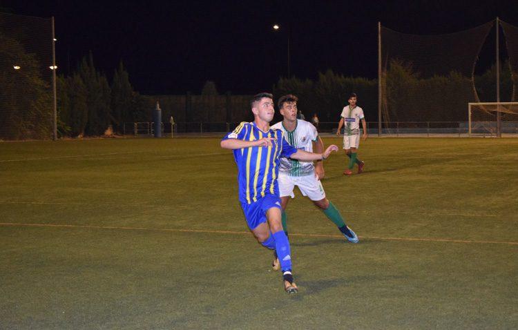 Vázquez, una promesa del fútbol utrerano que ya brilla en el juvenil del Cádiz C.F.
