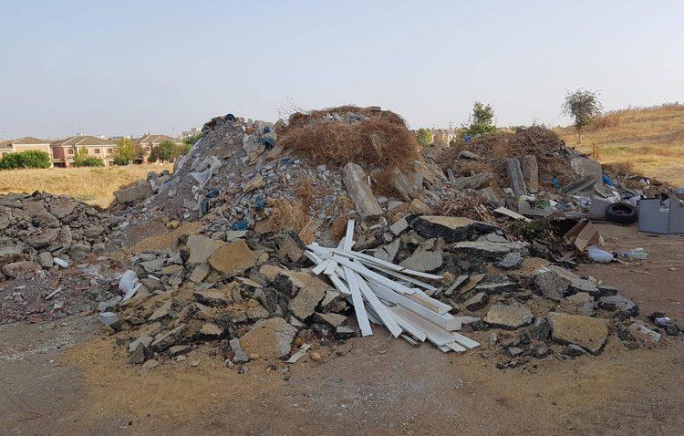 El PA denuncia ante la Guardia Civil «el vertido de escombros en Vistalegre por parte del Ayuntamiento»