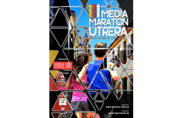 Una mañana con el atletismo como protagonista en Utrera gracias a la media maratón