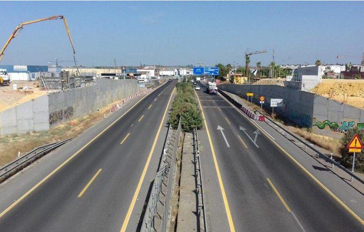 Nuevo corte total en la autovía Sevilla-Utrera por las obras en la A-392
