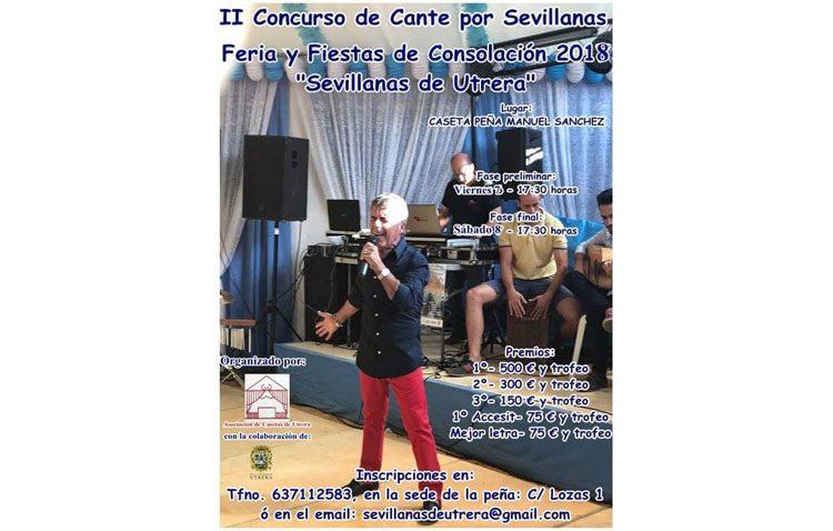 El concurso de cante por sevillanas repartirá más de 1.000 euros en premios