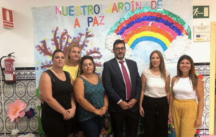 El curso escolar comienza en Utrera pendiente del futuro estreno del comedor escolar en el colegio Alfonso de Orleans