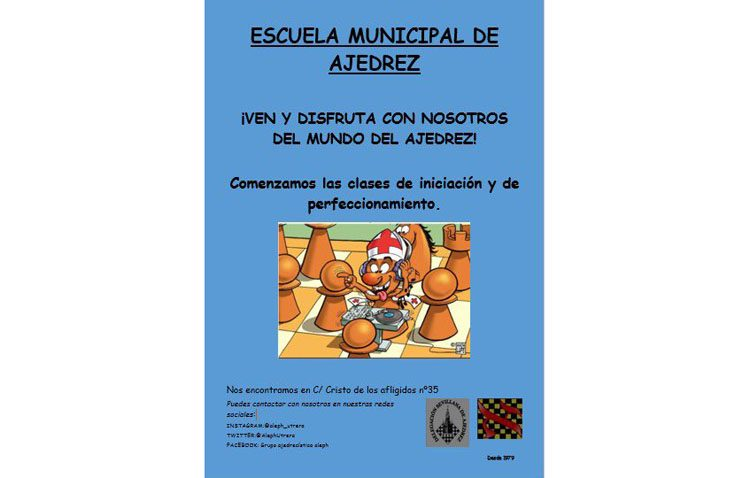 La escuela municipal de ajedrez estrena temporada