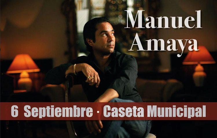 El utrerano Manuel Amaya, protagonista este jueves en la caseta municipal
