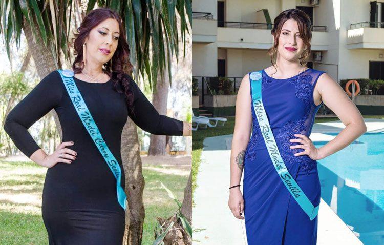 Dos utreranas luchan por la corona en el certamen provincial de belleza «Miss Real Model»