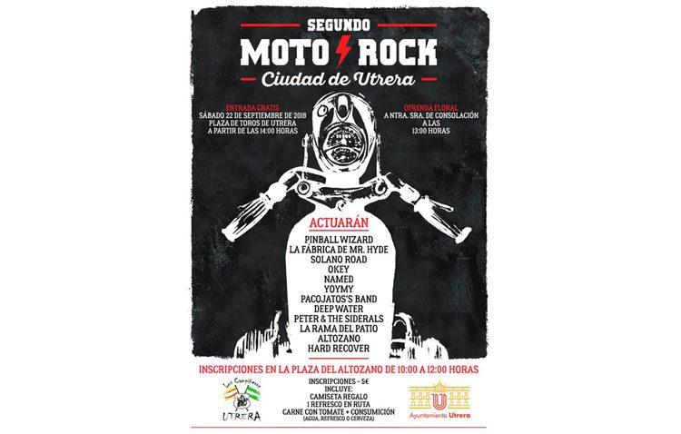 Un festival para fusionar las motos y el rock en Utrera