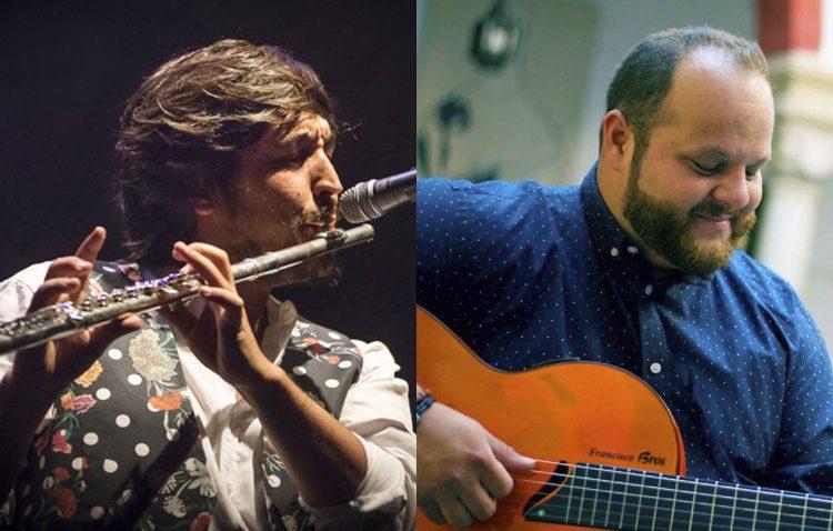 Doble concierto en la plaza del Altozano en la primera noche de actuaciones de preferia