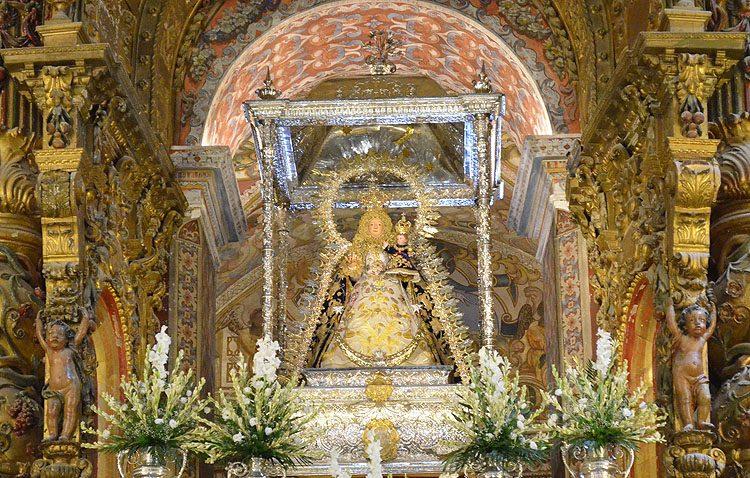 El santuario de Consolación se prepara para recibir a miles de devotos