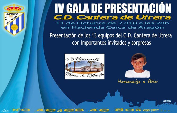 El C.D. Cantera de Utrera presenta su proyecto para la nueva campaña