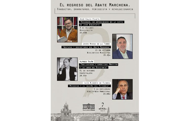 Un ciclo de conferencias sobre «El regreso del Abate Marchena. Traductor, dramaturgo, periodista y revolucionario»