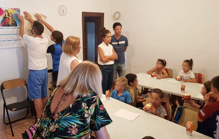 Aldaba inicia un nuevo curso del proyecto «Oberti» con 35 chavales de la barriada La Paz en unas nuevas instalaciones