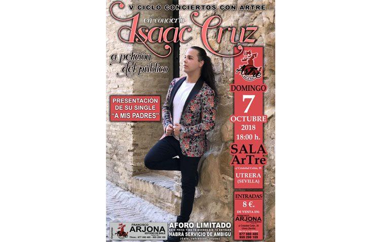 Concierto de Isaac Cruz en el estudio de baile «Artre»