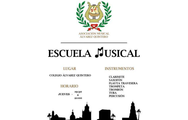 La banda «Álvarez Quintero» estrena un nuevo curso de su escuela musical