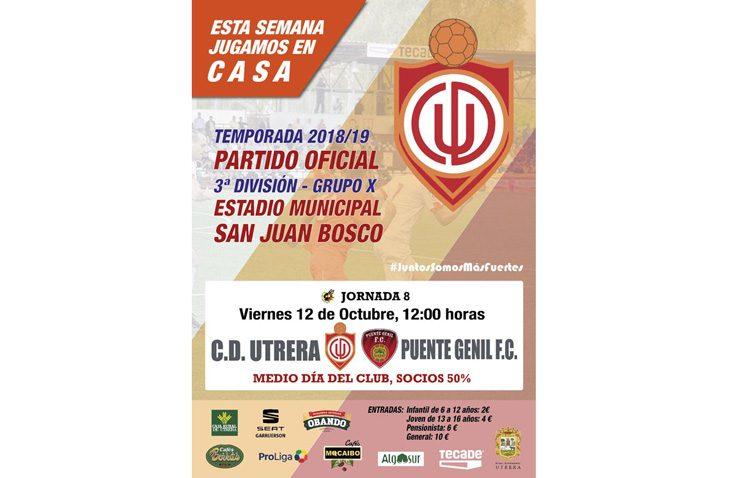 C.D. UTRERA – PUENTE GENIL C.F.: Aprovechar el factor cancha