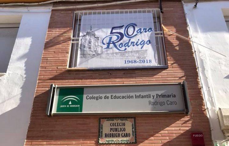 El colegio Rodrigo Caro cumple medio siglo de vida en Utrera