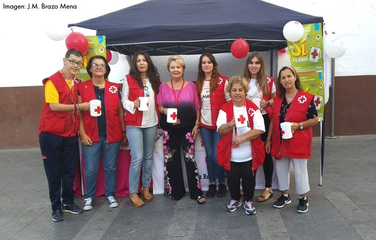 Cruz Roja Utrera celebró el «Día de la Banderita» recaudando fondos para los niños más desfavorecidos